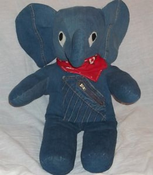 denim elephant