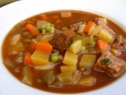 Mom's Vegetable Soup Recipe