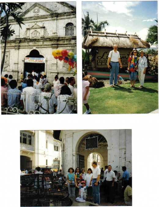 famous santo nino church in cebu