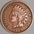The 1909-S Indian Head Penny