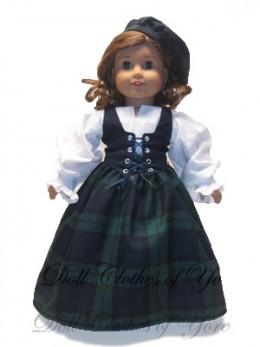'Luck o' the Irish' Doll Dress