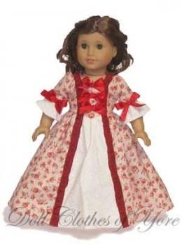 'Abigail Adams' Doll Dress