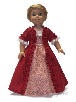 'Liberty' Doll Dress