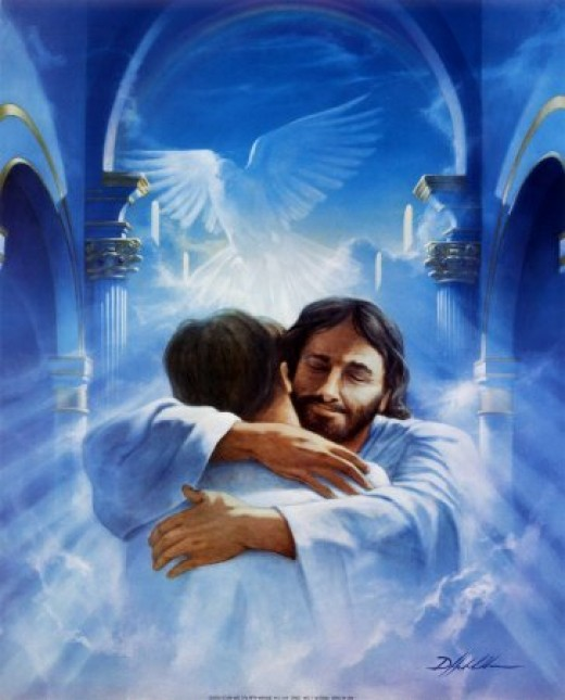 I owe everything I am to the Lord Jesus. It is He who comforts me and holds me when I am sad or in need.