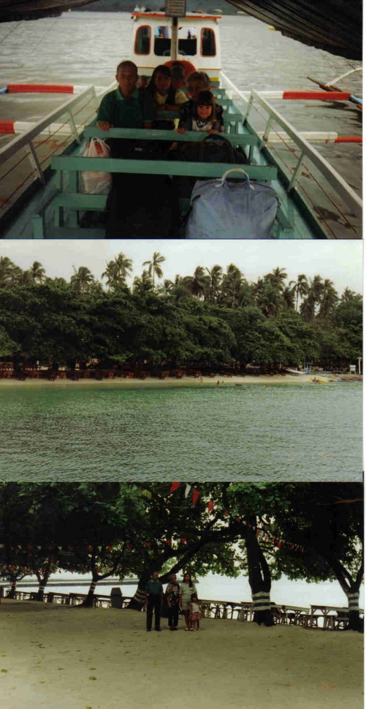 boat trip to paradise island