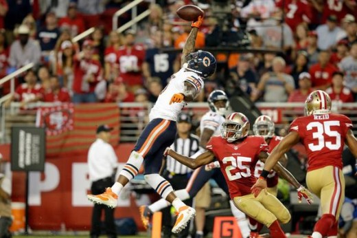 Brandon Marshall makes the play of the week in the Bears come from behind victory over San Francisco