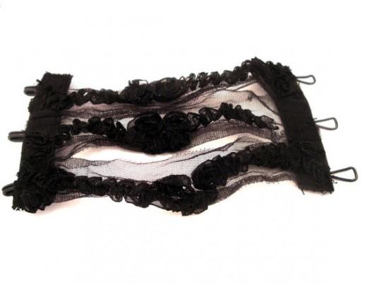 Black Gothic Wristlet