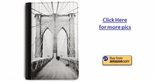 Brooklyn Bridge Designer Kindle Fire Cover by Verso
