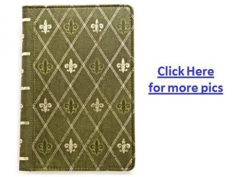 Verso Prologue Designer Kindle Fire Cover - Green Color