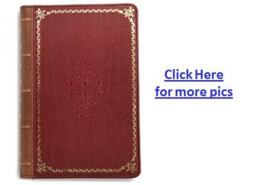 Verso Prologue Designer Kindle Fire Cover - Red Color