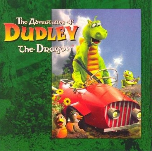 Dudley the Dragon Music CD