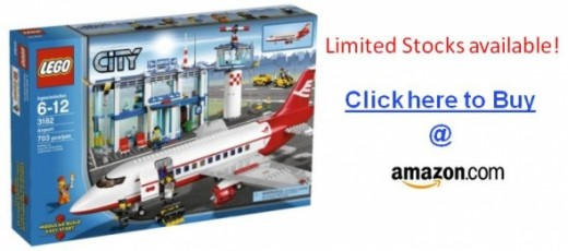 Order Lego City Airport 3182