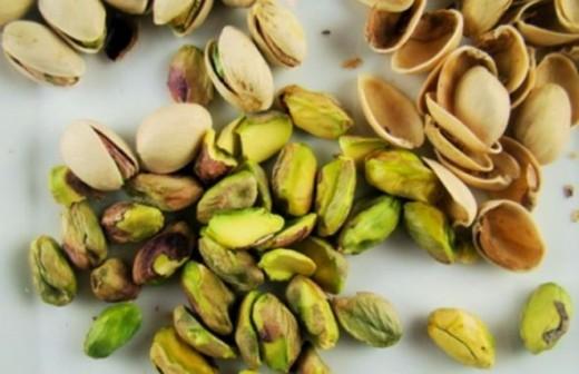 Lovely pistachios...