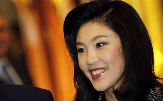 Yingluck Shinawatra - The president of Thailand