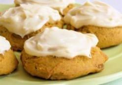 Halloween desserts--pumpkin cookies