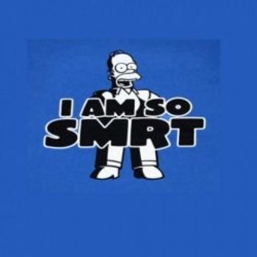 smart ass homer
