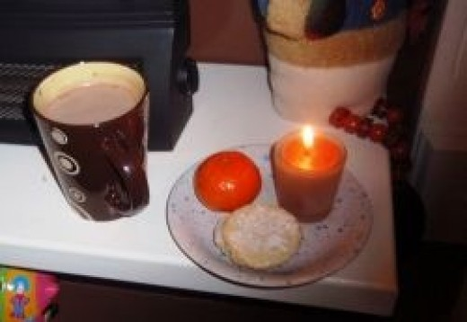 Our treats for Santa
