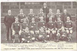 Welsh Rugby Union Team 1905