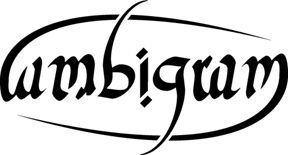 "The Word ""ambigram"" Is The Same When Looked At Upside Down"