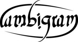 """The Word """"ambigram"""" Is The Same When Looked At Upside Down"""