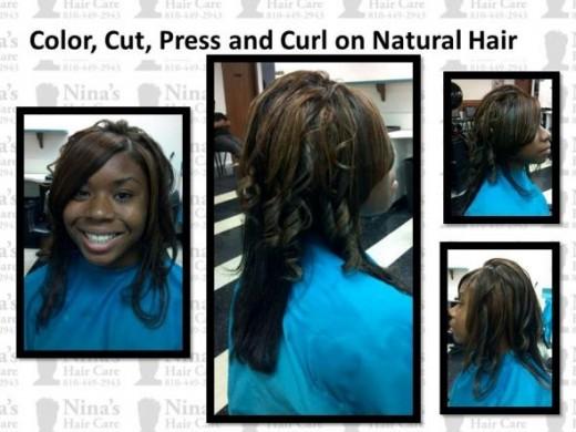 Nina's Hair Care 8104492943