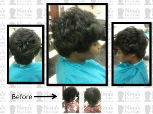 Press And Curl Short Hair Cut Press And Curl Short Hair