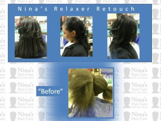 Nina's Relaxer Retouch