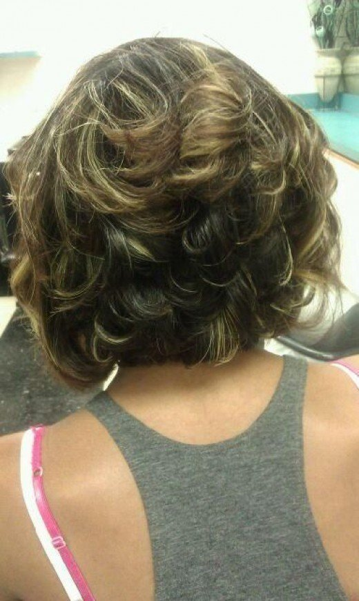hair cut back view