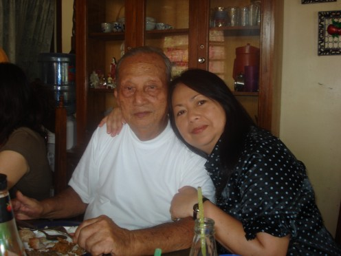 Me & Pa, At Home in Buenavista, Phil.