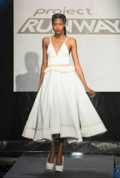 Project Runway 13 - Sean Kelly Designs transforming 'Rainway' Dress
