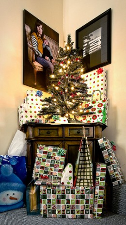 Gifts and the Xmas Tree