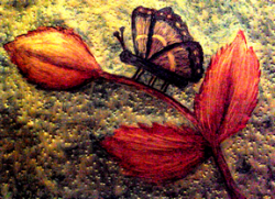Mum's Butterfly, Art by Injete Chesoni.