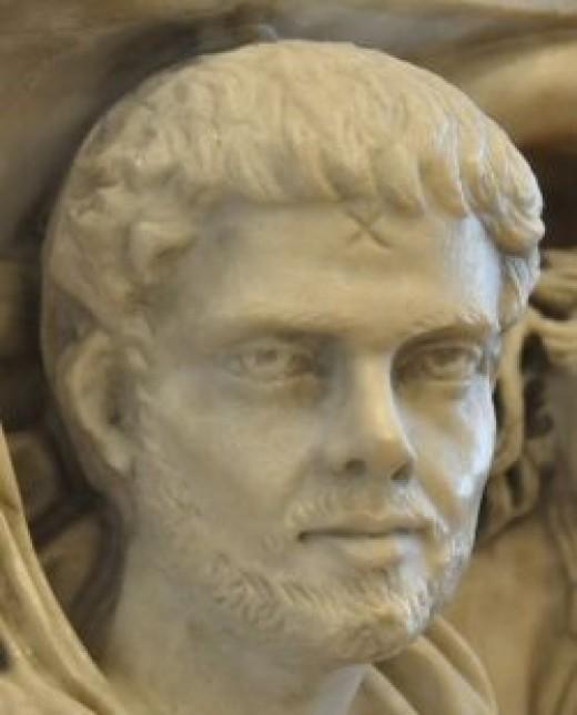 Source: Detail of a replica of the Ludovisi Sarcophagus, Römisch-Germanisches Zentralmuseum