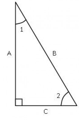 Fig. 2 Right Triangle