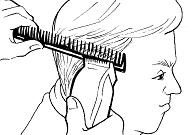 clipper over comb technique