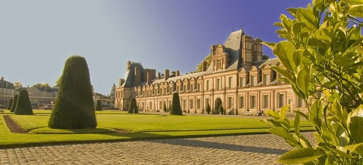 The Palace of Fontainebleau Photo: meeeeuh de retour