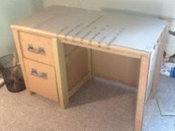 Building Cardboard Furniture: Desk