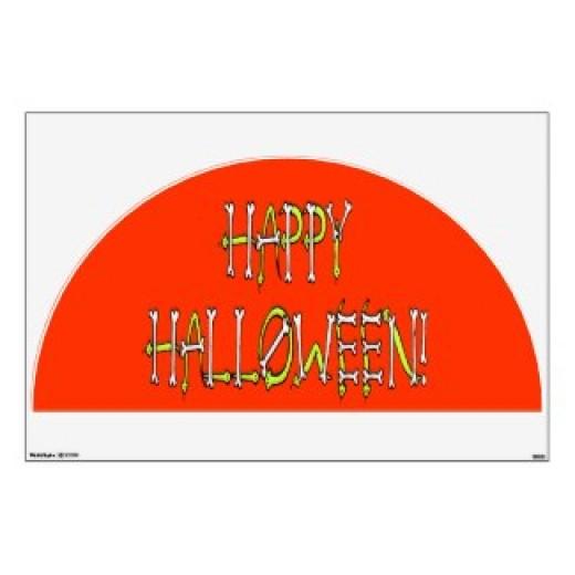 Halloween Art Text