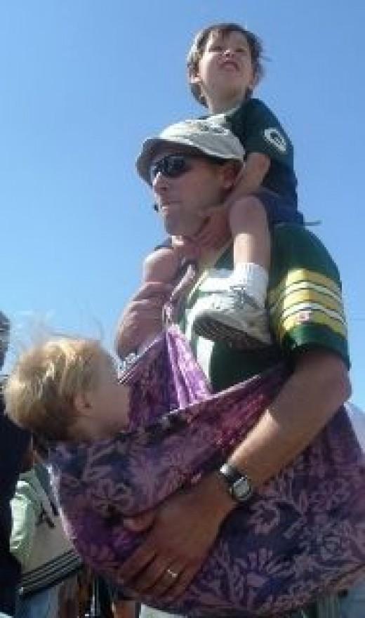 Milwaukee Dads Packer Practice (Wikipedia)
