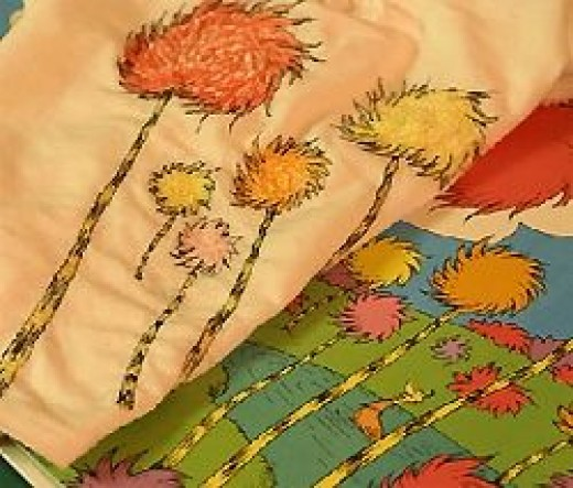 Make your own Lorax T Shirt