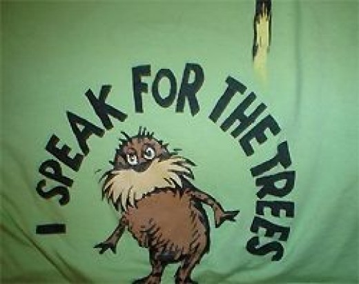 How to make a Lorax T-shirt