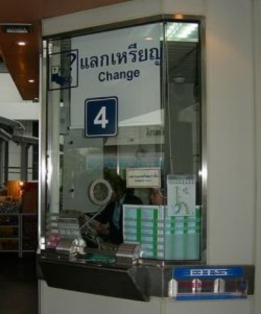 Skytrain Change Booth
