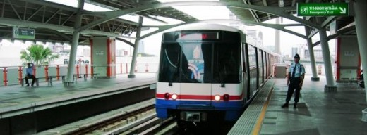 BTS Bangkok Skytrain Station