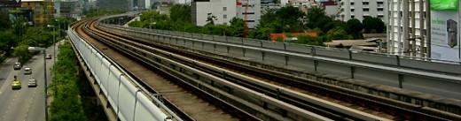 Bangkok Skytrain Tracks