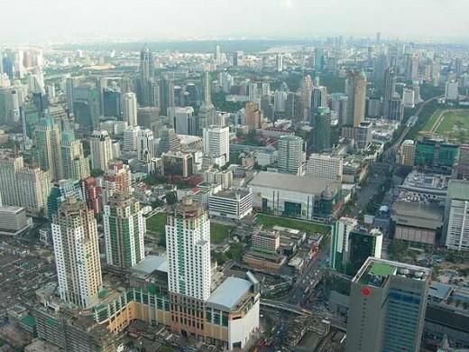 View from Baiyoke Tower