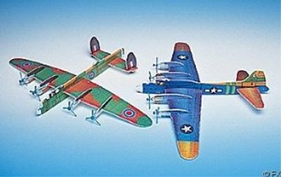 Foam Giant Bomber Gliders