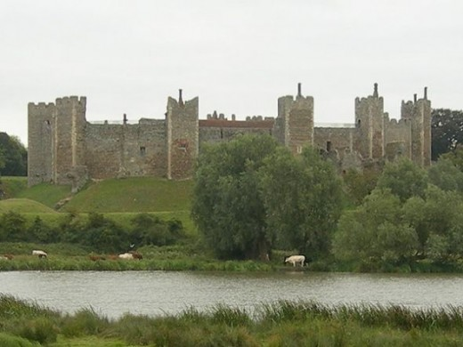 Framlingham Castle, Suffolk