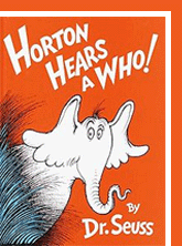 Buy Horton Hears a Who on Amazon.com; new from $4.28