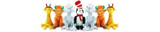Dr Seuss Plush Toys