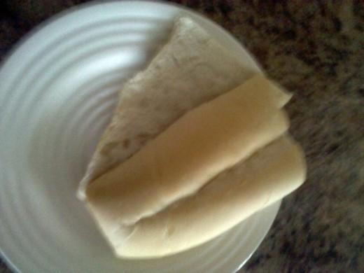 "sliced 6"" pan cubano bread"